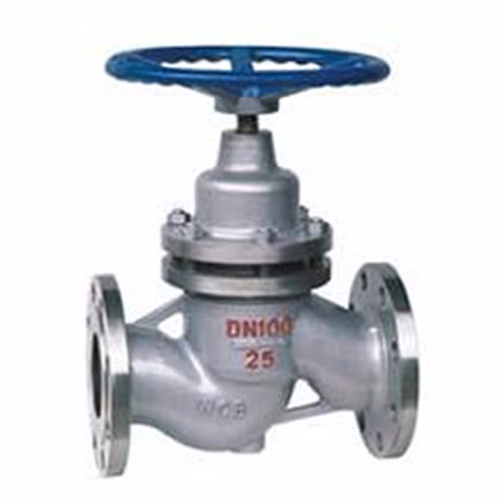 U41H Flanged High Temperature Plunger Valve