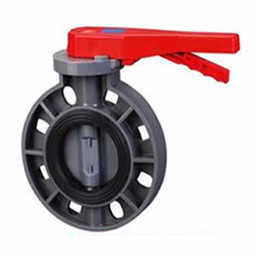 D71X-6F Handle-to-Clamp Plastic Butterfly Valve